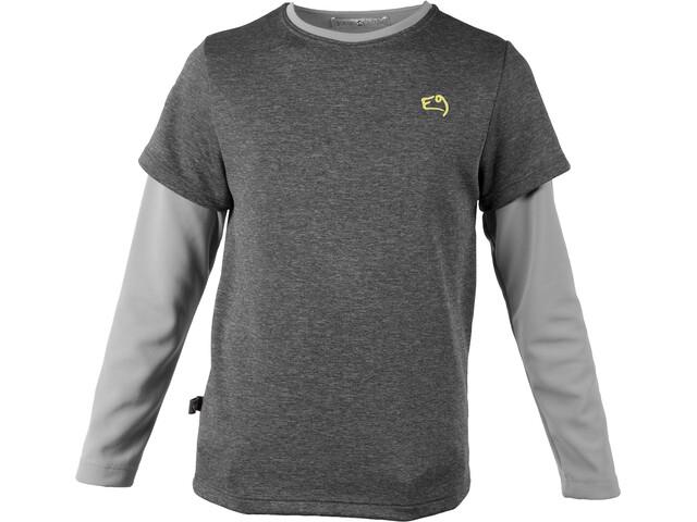 E9 B Btech - T-shirt manches longues Enfant - gris